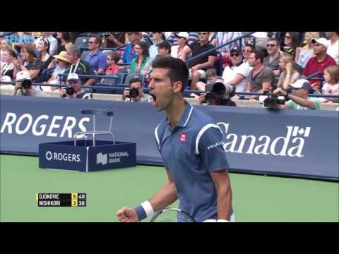 Djokovic Tops Nishikori In Toronto 2016 Final Highlights