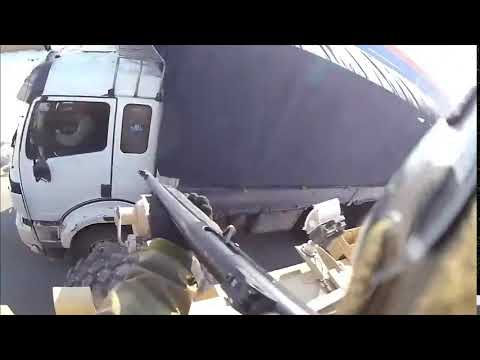 US commando firing at civilian truck in Afghanistan