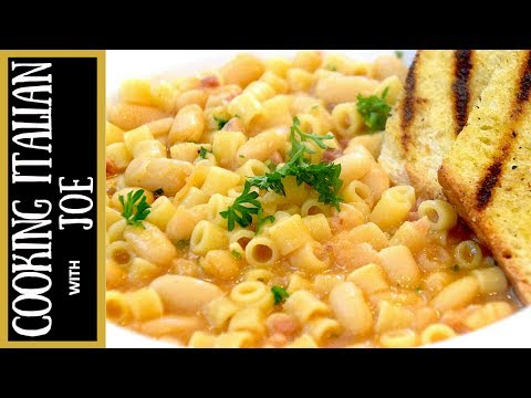 Make the World's Best Pasta e Fagioli Fazool Recipe Cooking Italian with Joe