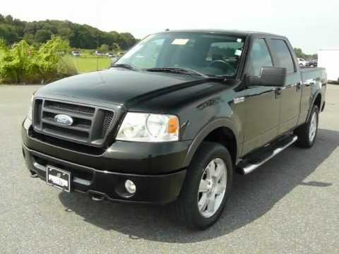 used ford truck for sale de 2007 ford f150 fx4 4wd crew cab youtube. Black Bedroom Furniture Sets. Home Design Ideas