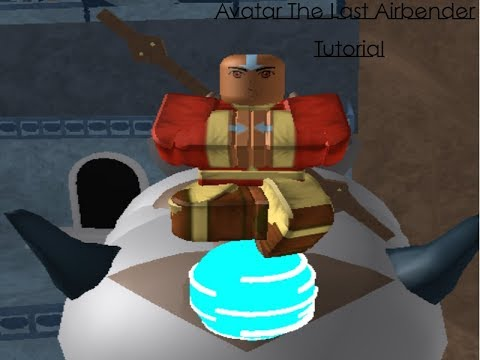 Roblox Avatar The Last Airbender Tutorial And All Moves For Airbenders Youtube