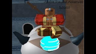 Roblox Avatar The Last AirBender/Tutorial And All Moves For AirBenders