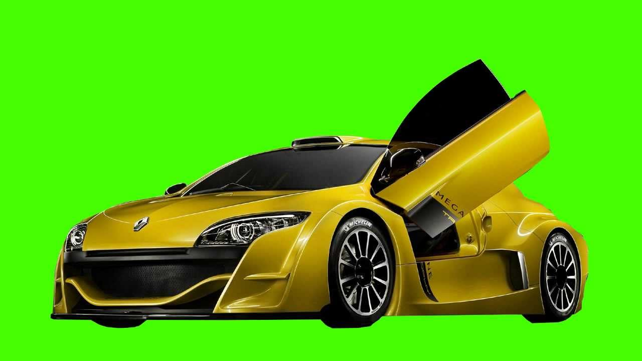 super car in green screen free stock footage - YouTube