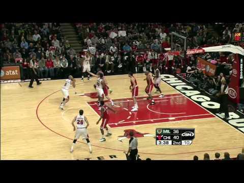 12-28-2010 - Bulls vs. Bucks - Carlos Boozer Highlights