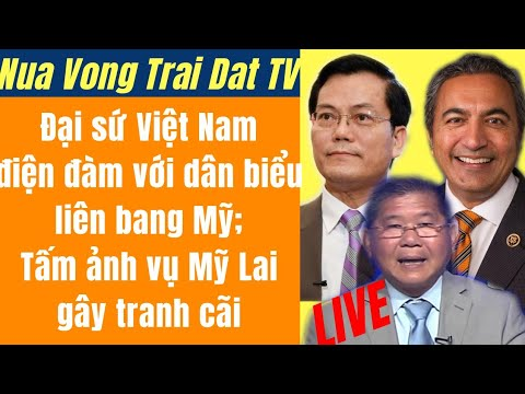 Tấm ảnh Vụ Mỹ Lai Gây Tranh Cãi | Đại Sứ Việt Nam điện đàm Với Dân Biểu Mỹ | Nửa Vòng Trái Đất TV