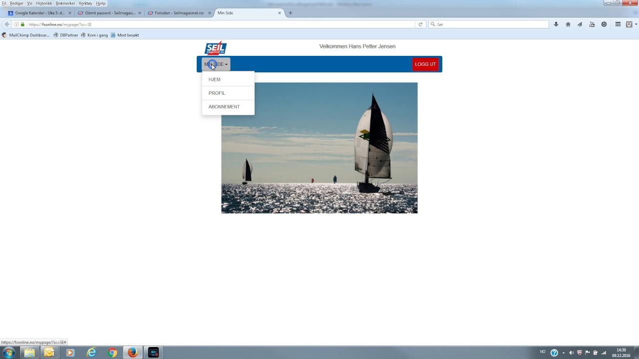 Telenor online e post glemt passord