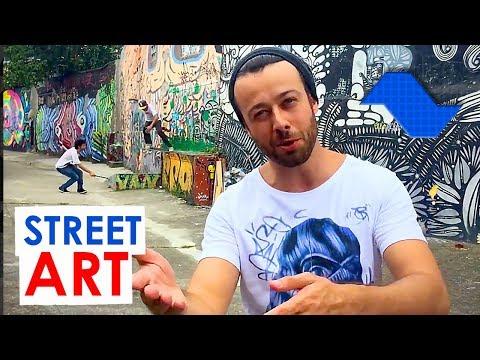 Centenas de STREET ART em SÃO PAULO em menos de 5 minutos