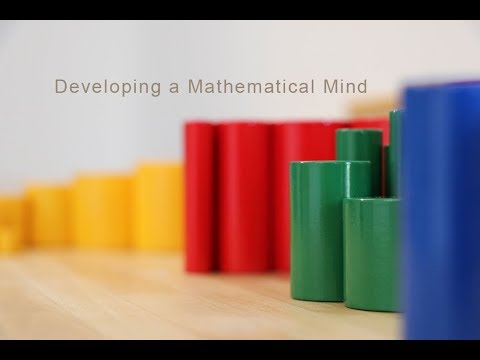 Developing a Mathematical Mind with the Sensorial Materials