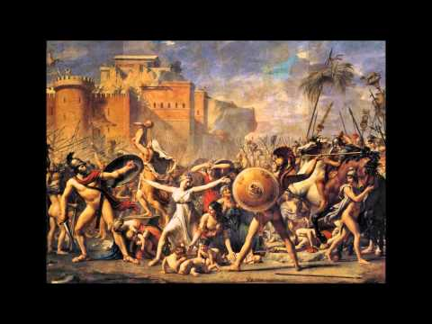 Art History: The Intervention of the Sabine Women