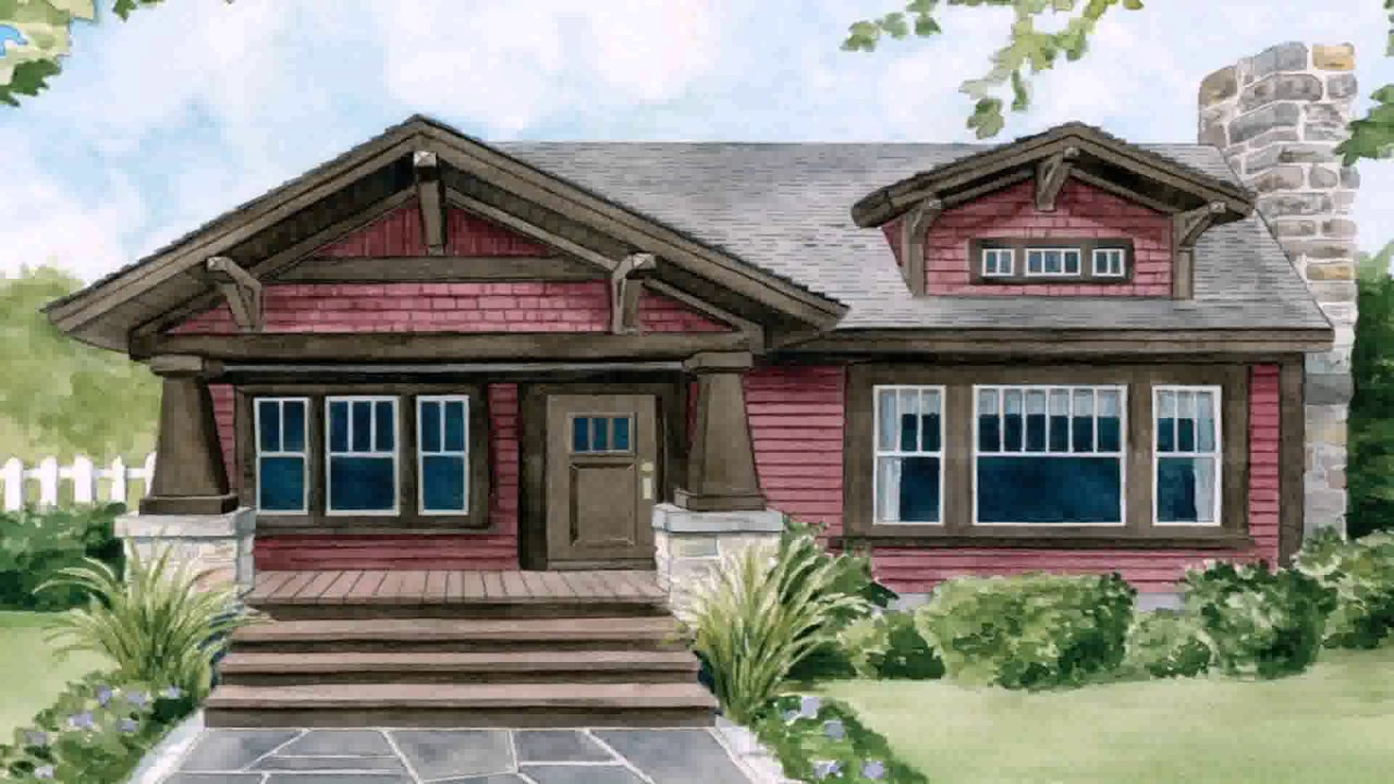 Craftsman style homes maryland youtube for Craftsman vs mission style