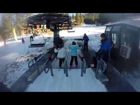 Diamond Peak Ski Resort - Incline Village, NV 1080p 60FPS GoPro