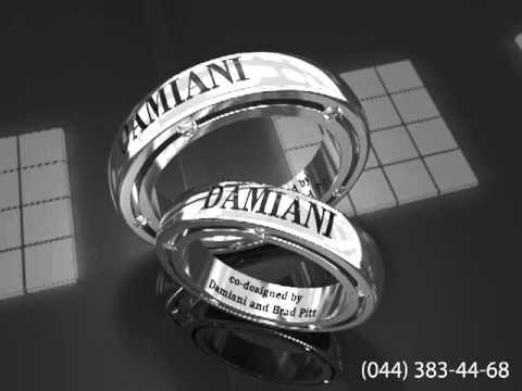Кольцо Damiani из белого золота с бриллиантами