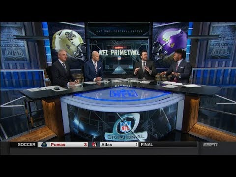 Vikings vs Saints Postgame Analysis | NFL Primetime | Jan 14, 2018