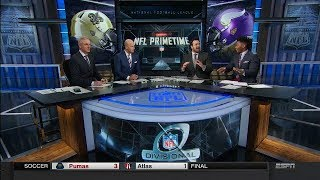 Vikings vs Saints Postgame Analysis | NFL Primetime | Jan 14, 2018