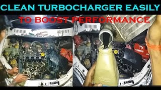 tata car cleaning turbocharger without removing it by crackover