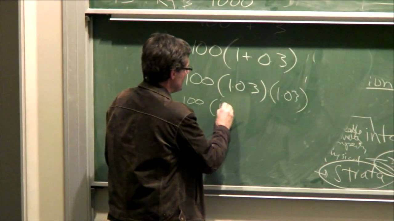 Lecture 10b:  Exponential Growth - Richard Buckland