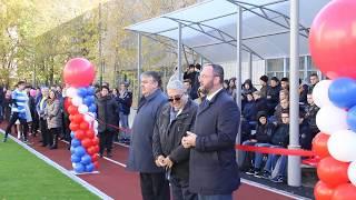 Торжественное открытие стадиона ДВГУПС в Хабаровске: матч между преподавателями и студентами