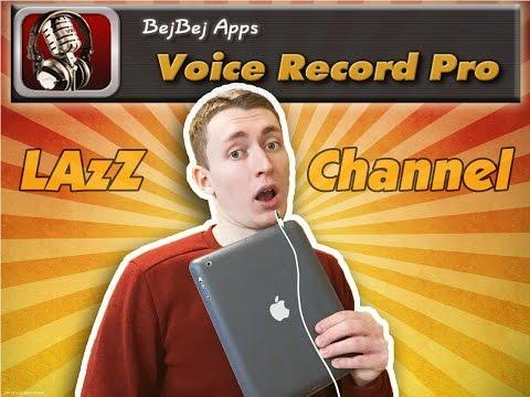 Запись звука на ipad/iphone (Voice Record Pro)