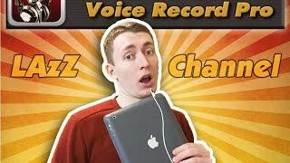 Запись звука на ipad/iphone (Voice Record Pro)(Очень хорошая программа для запись голоса. Для iphone: https://itunes.apple.com/ru/app/voice-record-pro/id546983235?mt=8 Для ipad: ..., 2015-02-06T17:35:48.000Z)