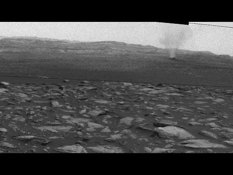 Dust Devils on Mars Seen by NASA