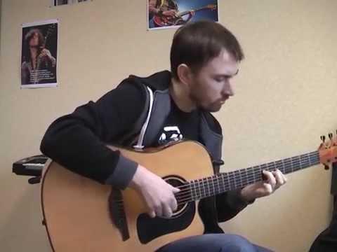 Молитва - Би-2   соло кавер на гитаре В.Трощинков   уроки гитары Киев и Скайп