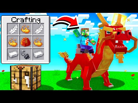 How To CRAFT DRAGONS in Minecraft!