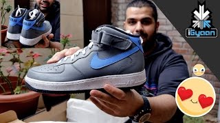 Custom Nike iGyaan Air Force One Shoes in India