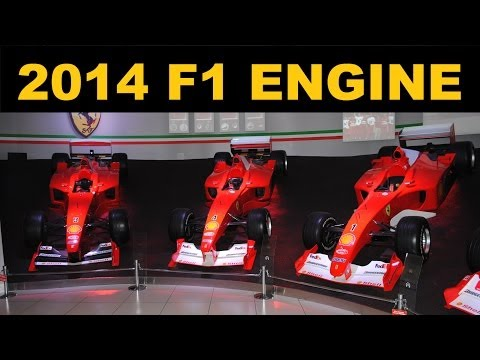 2014 F1 Engine - ERS - Explained