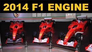2014 F1 Engine - ERS - Explained