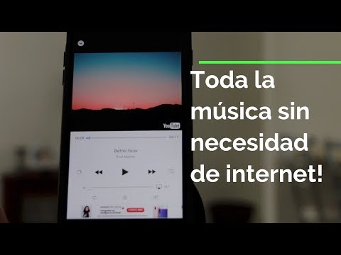Escucha Música sin Internet Gratis!