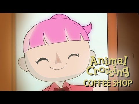 Animal Crossing Coffee Shop Commercial