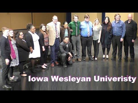 Iowa Wesleyan University Music Student Recital 2018