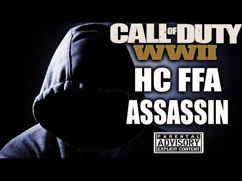 THE SECRET TO WINNING 😈 CALL OF DUTY HARDCORE FREE FOR ALL - COD WW2 HC FFA - HARDCORE FFA WW2
