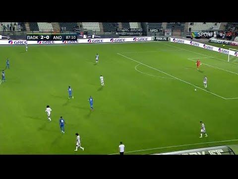 ΠΑΟΚ - Ανόρθωση 2-0 Στιγμιότυπα | PAOK - Anorthosi 2-0 highlights {21/7/2017}