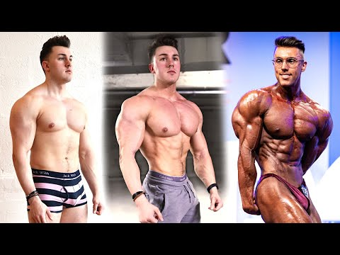 Brandon Harding 120 Day Transformation (223lbs - 191lb) Unnatural