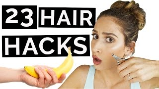 23 hair hacks that will change your life