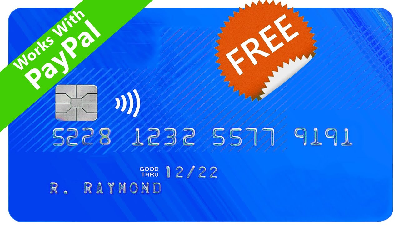 How to get a FREE Virtual Card without any Bank Account - International Virtual Card for PayPal