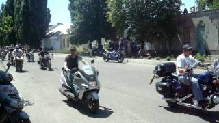 Байкерский слёт в городе Каховка (Херсонской области)(Каховка, 23 июля 2011 года., 2011-07-23T12:07:30.000Z)