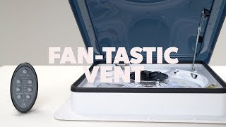DOMETIC | How To Operate Your Dometic Fan-Tastic Vent