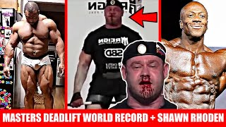 Mikhail Shivlyakov CRAZY Deadlift + Cedric McMillan Update + Shawn Rhoden Answers 2020 Olympia