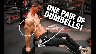 Video 7 Minute Triceps Workout (JUST DUMBBELLS!!) download MP3, 3GP, MP4, WEBM, AVI, FLV Oktober 2018