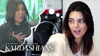 Kendall Jenner Vents to Kris About Kourtney Overstaying Her Welcome | KUWTK | E!