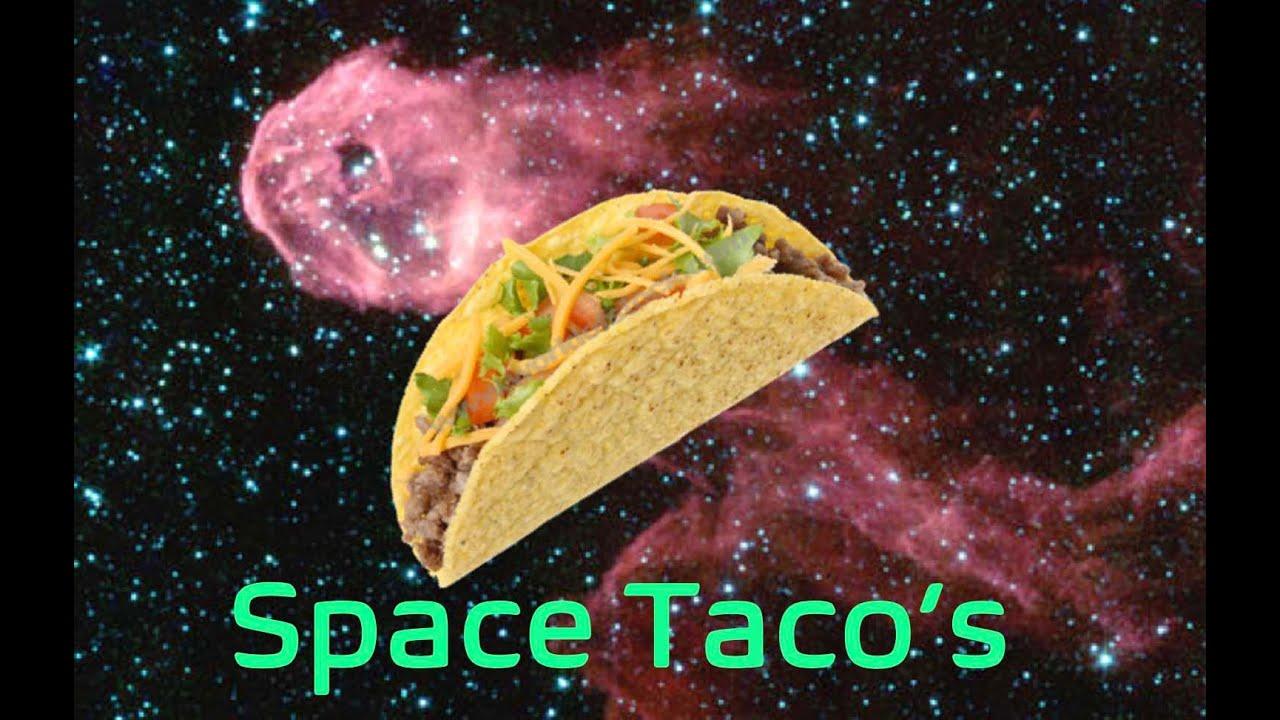 SPACE TACO'S - An astronauts dinner