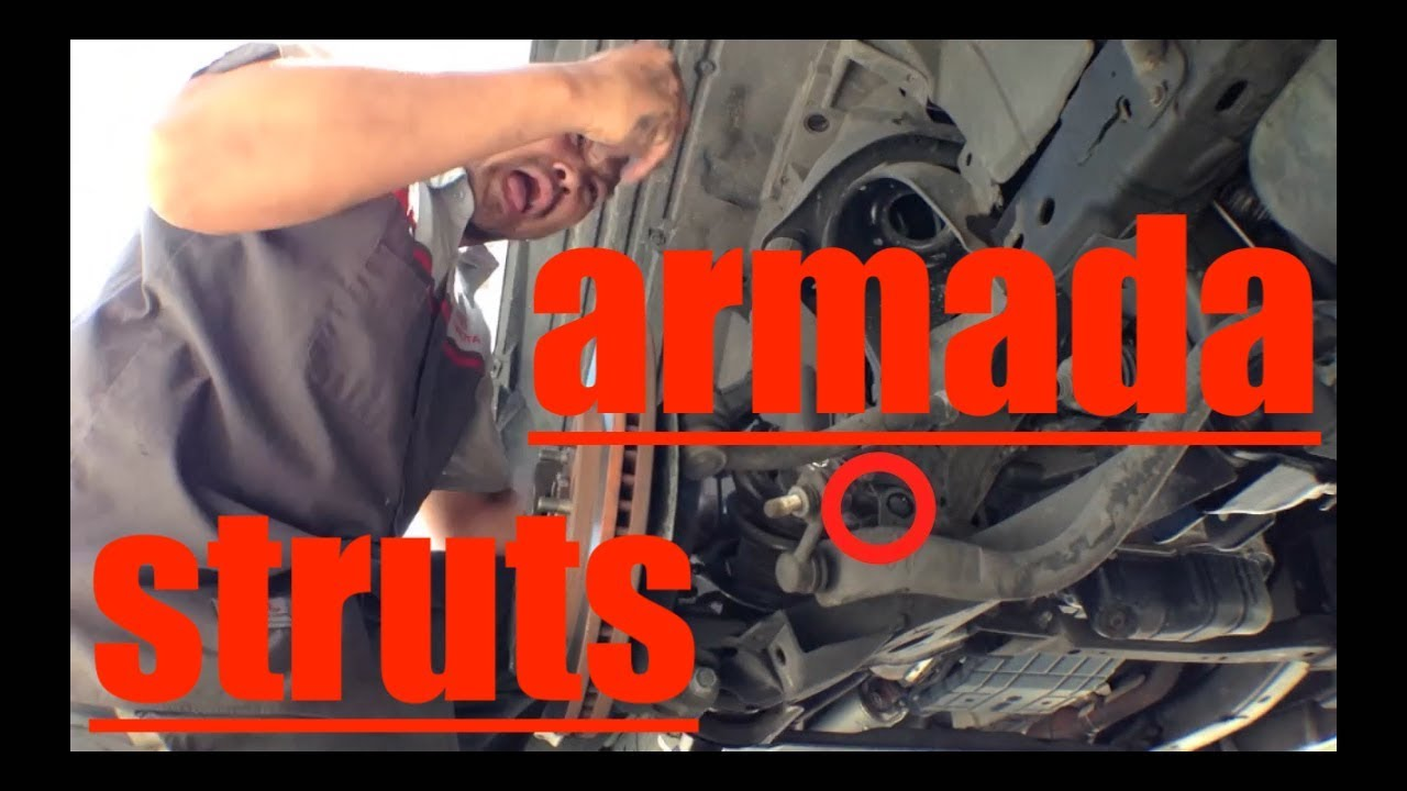 Front Struts Shocks Replacement '04-'13 Nissan Armada QX56 √ Fix it Angel