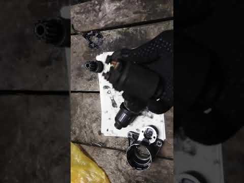 лада калина, ремонт стартера