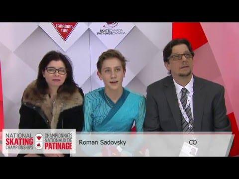 Roman SADOVSKY CANADIAN NATIONALS 2016 FS