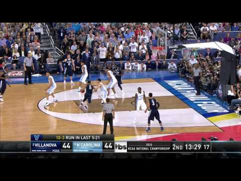 Villanova's Phil Booth goes for 20 points in win over North Carolina