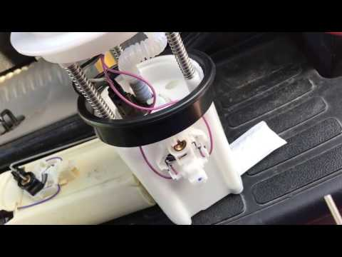 HOW TO INSTALL A FUEL PUMP IN A 2002 GMC Yukon