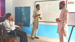How to teach numbers to KG students by Junaid Khan and Sheraz Ahmed