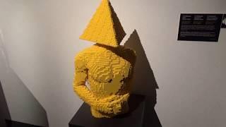 Влог  ШОК  Такого еще НЕ ВИДЕЛИ  НАРУШИЛИ ВСЕ ЗАПРЕТЫ выставка Искусство LEGO Игрушки для детей